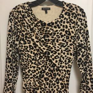 Juicy Couture Dresses - Juicy Couture animal print 3/4 sleeve dress sz M